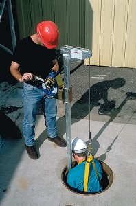 Fall Protection Ladder Mast