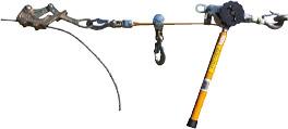 Klein Web-Strap Ratchet Hoist - Single Line